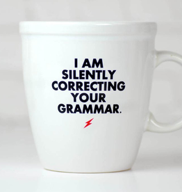Ceramic Coffee Mug - Correcting Your Grammar