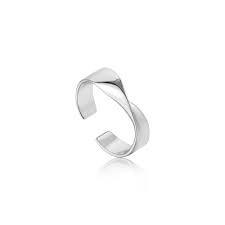 Ania Haie Ania Haie Helix Adjustable Ring