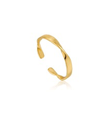 Ania Haie Helix Thin Adjustable Ring