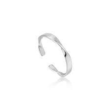 Ania Haie Ania Haie Helix Thin Adjustable Ring