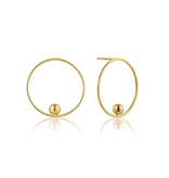 Ania Haie Ania Haie Orbit Front Hoop Earrings