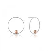 Ania Haie Ania Haie Orbit Front Hoop Earrings