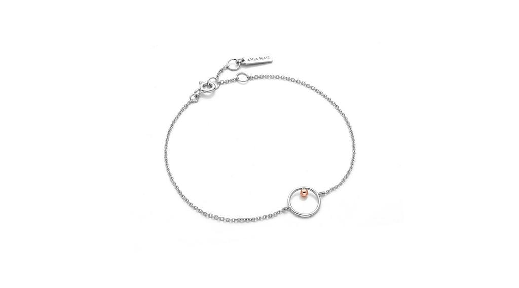 Ania Haie Ania Haie Orbit Chain Circle Bracelet