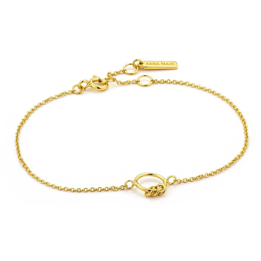 Ania Haie Ania Haie Modern Circle Bracelet