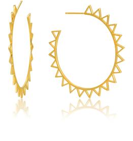 Ania Haie Ania Haie Spike Hoop Earrings