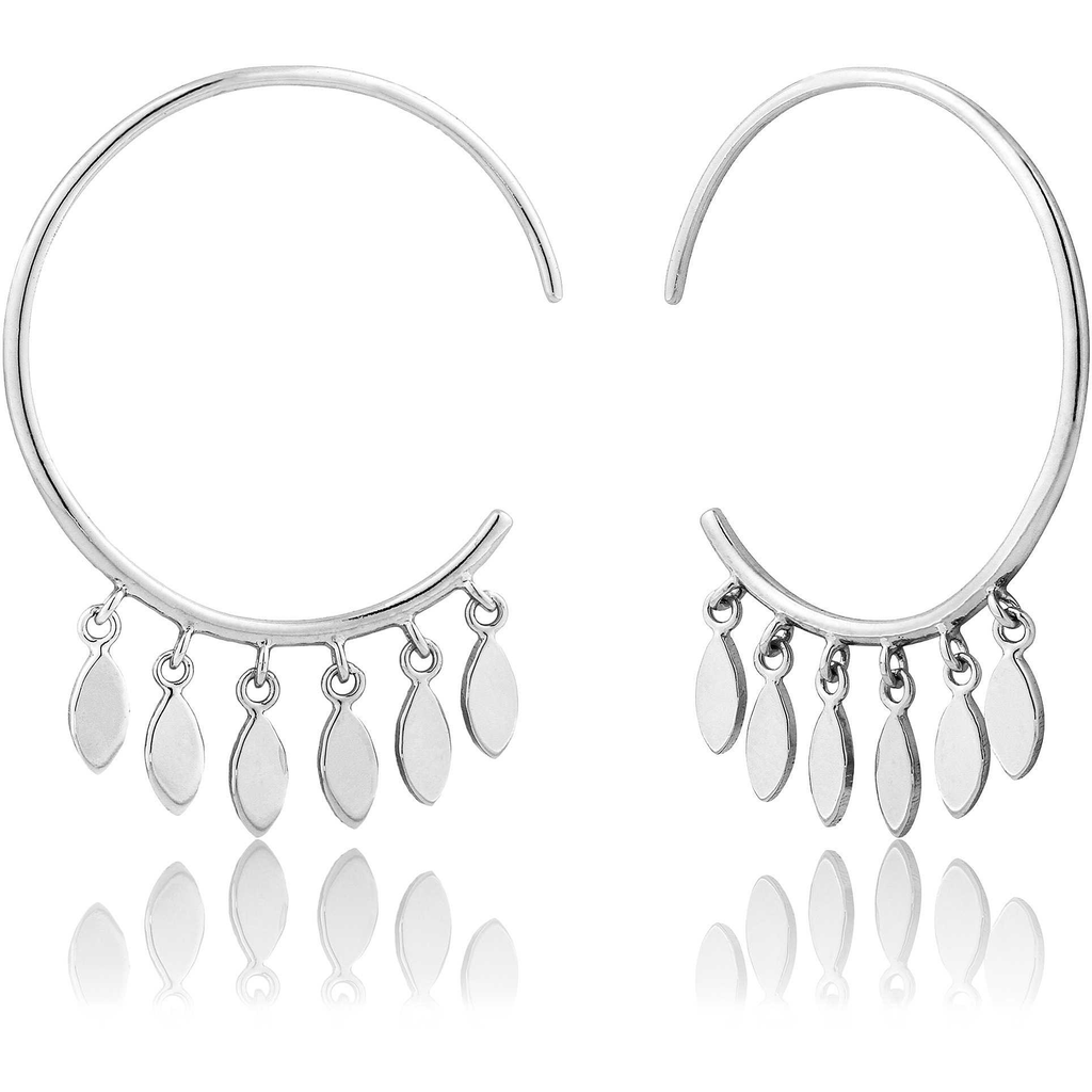 Ania Haie Ania Haie Multi-Drop Hoop Earrings
