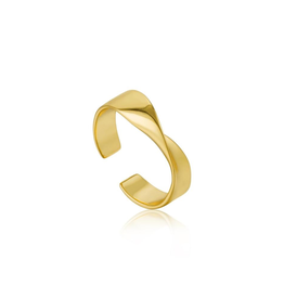 Ania Haie Ania Haie Helix Adjustable Ring