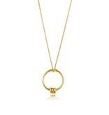 Ania Haie Ania Haie Modern Circle Necklace