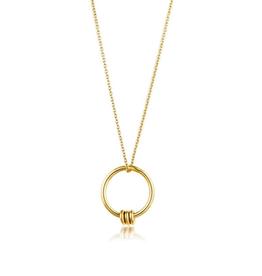 Ania Haie Ania Haie Modern Circle Necklace