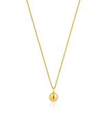 Ania Haie Ania Haie Orbit Ball Necklace Gold