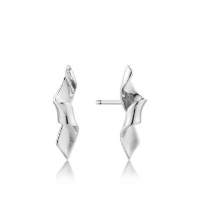 Ania Haie Ania Haie Helix Stud Earrings Silver