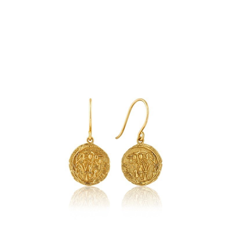 Ania Haie Ania Haie Emblem Hook Earrings
