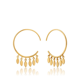 Ania Haie Ania Haie Multi Drop Hoop Earrings