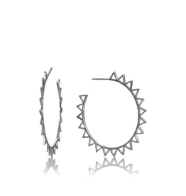 Ania Haie Ania Haie Spike Hoop Earrings