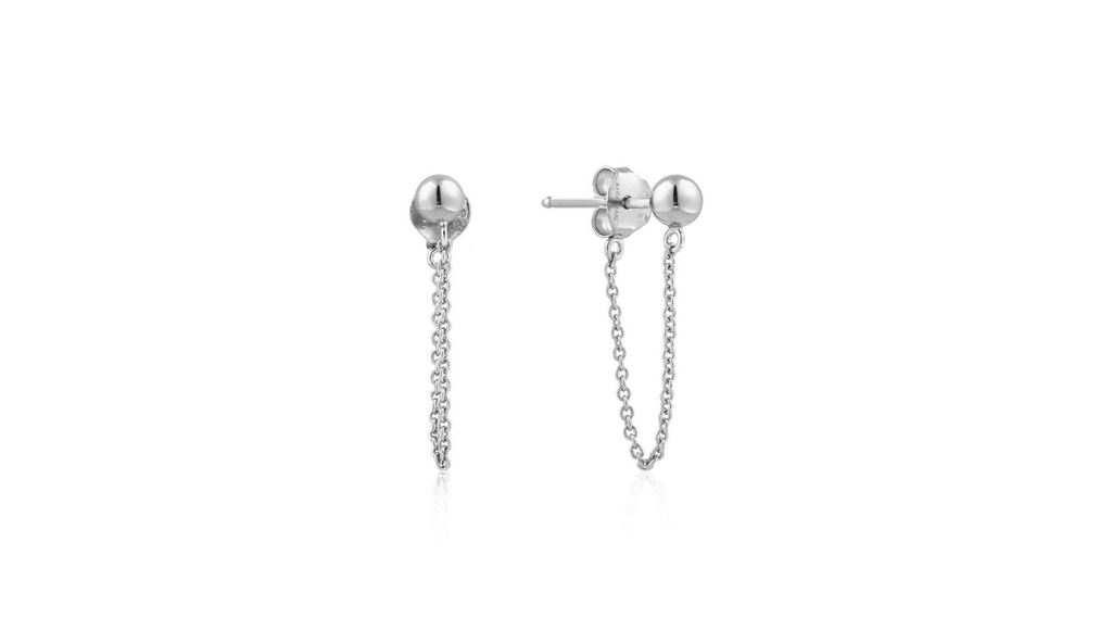Ania Haie Ania Haie Modern Chain Stud Earrings
