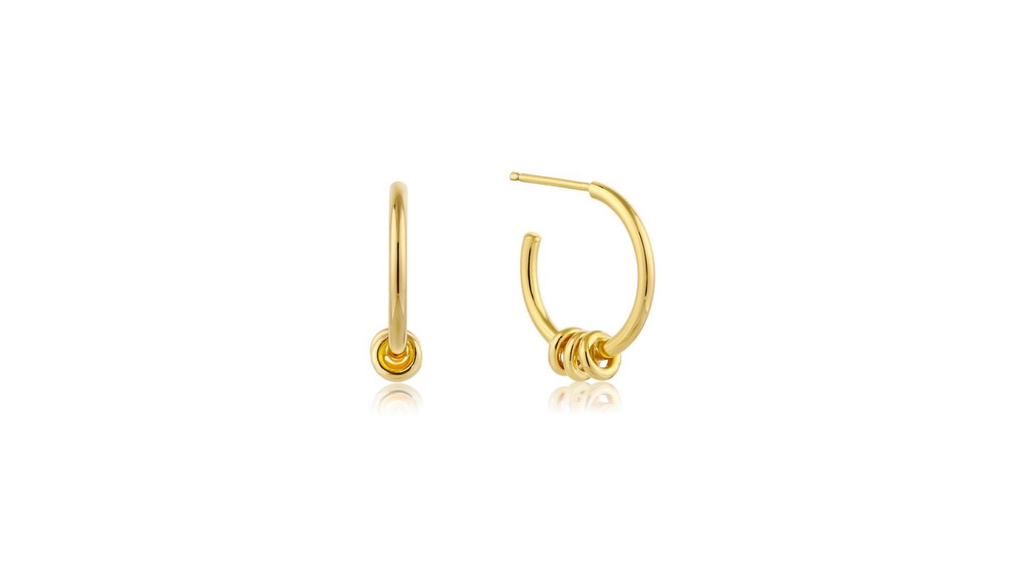 Ania Haie Ania Haie Modern Hoop Earrings