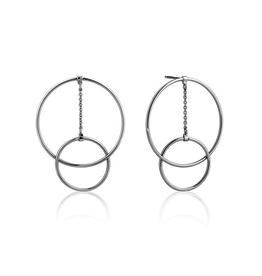Ania Haie Ania Haie Modern Front Hoop Earrings
