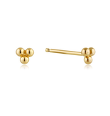 Ania Haie Ania Haie Modern Triple Ball Stud Earrings