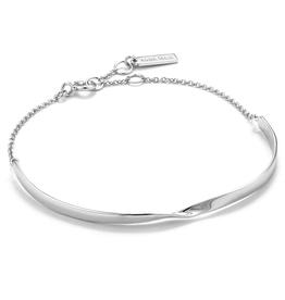 Ania Haie Twist Bracelet Silver