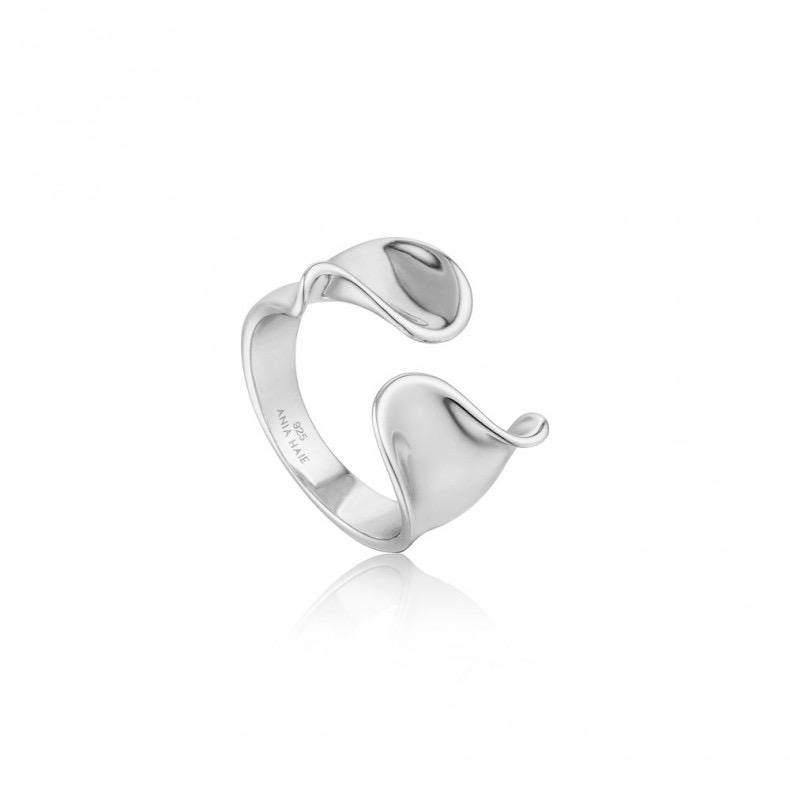 Ania Haie Ania Haie Twist Wide Adjustable Ring