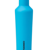Corkcicle Neon Lights Blue Canteen 16 oz