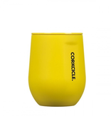 Corkcicle 12 oz. Stemless Neon Lights Yellow
