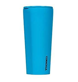 Corkcicle Neon Lights Blue Tumbler 24 oz