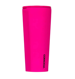 Corkcicle Neon Lights Pink Tumbler 24 oz