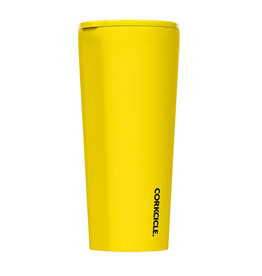 Corkcicle Neon Lights Yellow Tumbler 25 oz