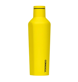 Corkcicle Neon Lights Yellow Canteen 16 oz