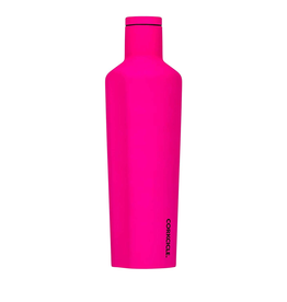 Corkcicle Neon Lights Pink Canteen 25 oz