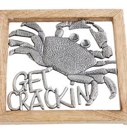 Mud Pie Crackin' Crab Trivet