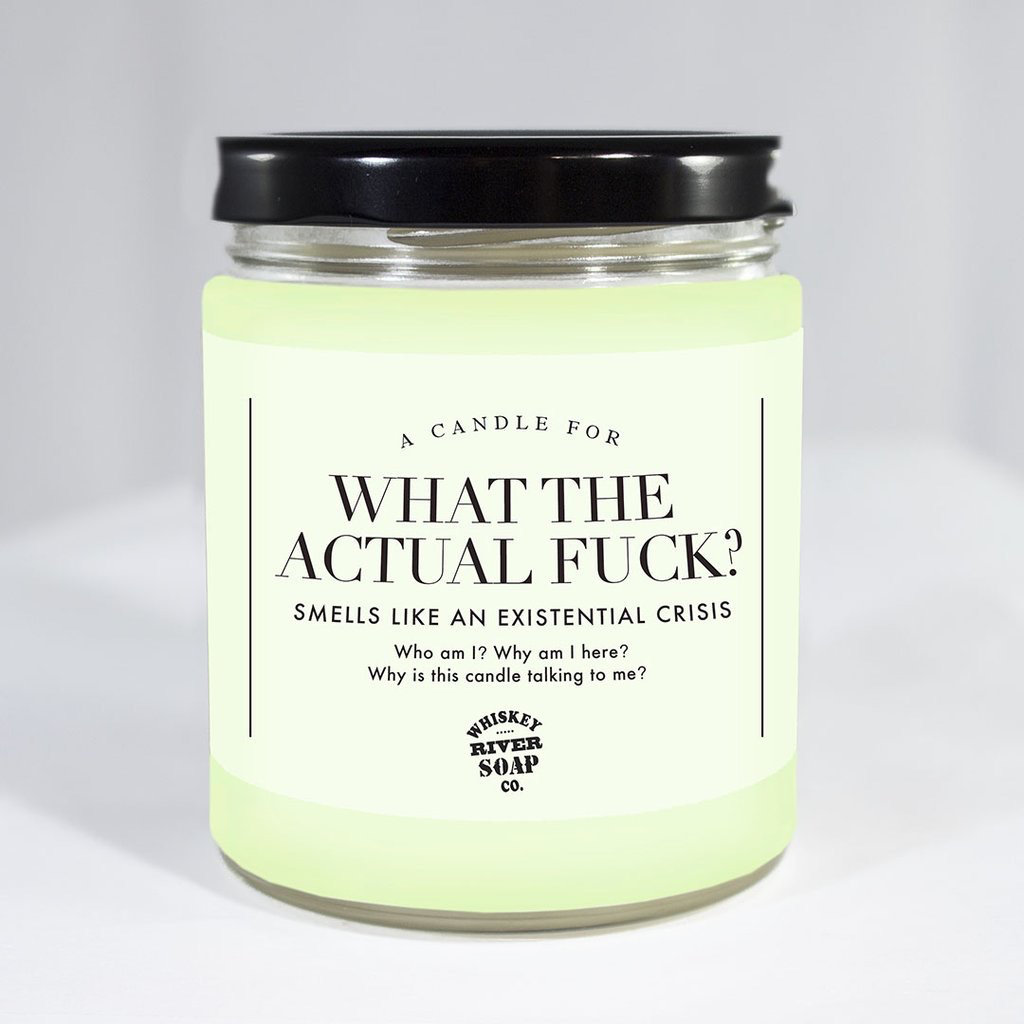 General Gift Whiskey River Soap Company - What the Actual F***