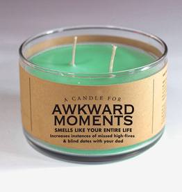 Whiskey River Soap Company-Awkward Moments - Candle