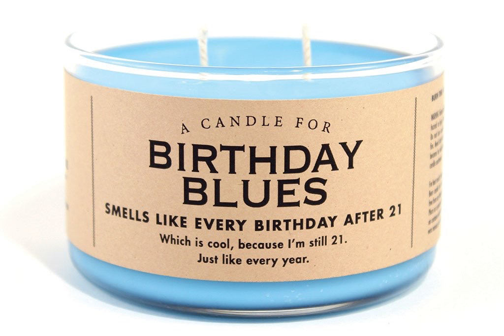 Whiskey River Soap Company - Birthday Blues - Candle