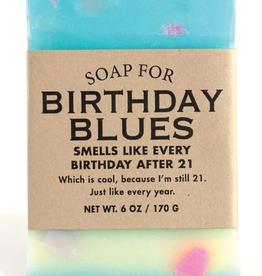 Whiskey River Soap Company - Birthday Blues - Soap