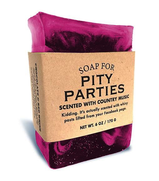 Personal Care Whiskey River Soap Company-Pity Parties - Soap