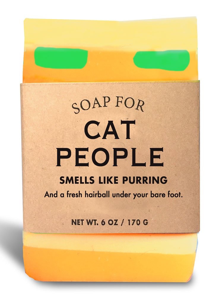 Personal Care Whiskey River Soap Company - Cat People - Soap