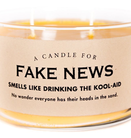 Whiskey River Soap Company - Fake News - Candle