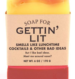Whiskey River Soap Co. - Gettin' Lit Soap