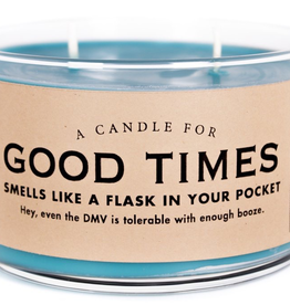 Whiskey River Soap Company - Good Times - Candle