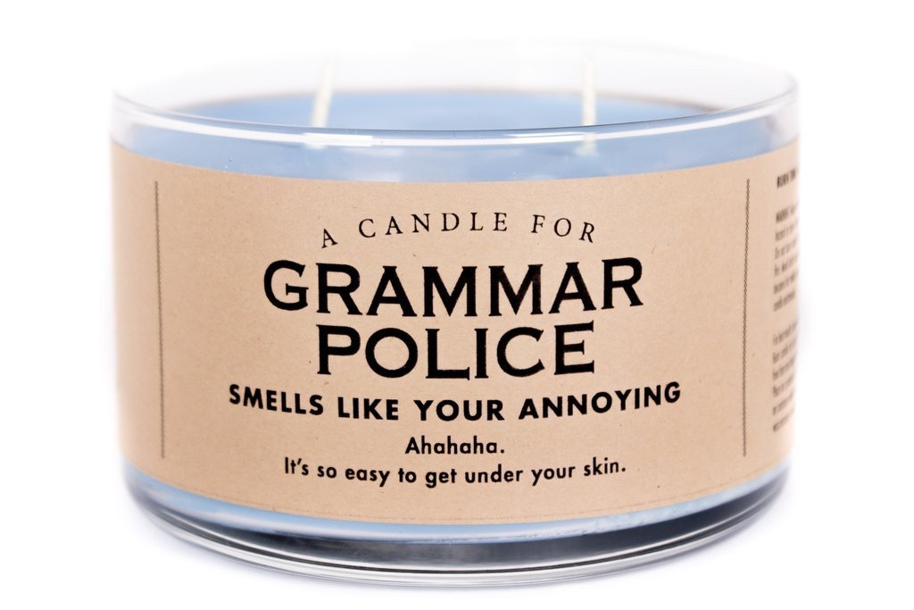 Whiskey River Soap Company-Grammar Police-Candle