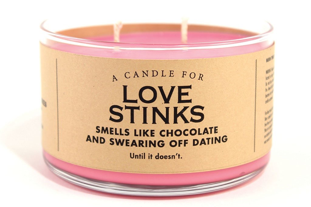 Whiskey River Soap Company - Love Stinks - Candle