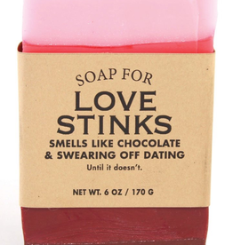 Whiskey River Soap Co. - Love Stinks Soap