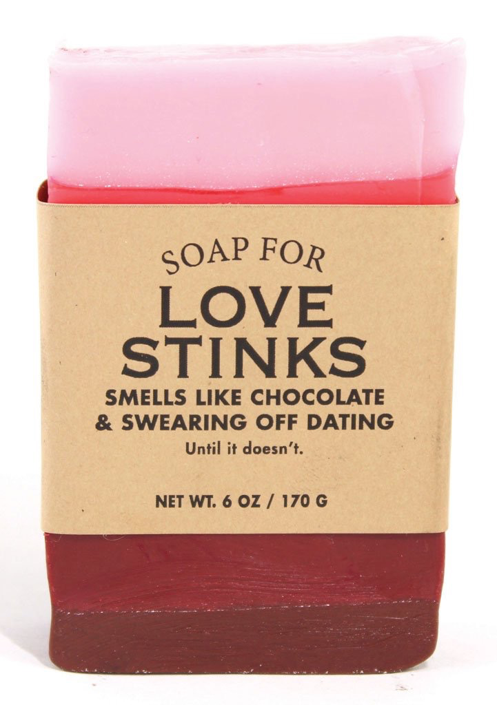 Personal Care Whiskey River Soap Company - Love Stinks Soap