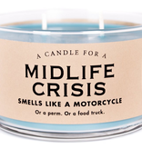 Whiskey River Soap Company- Midlife Crisis - Candle