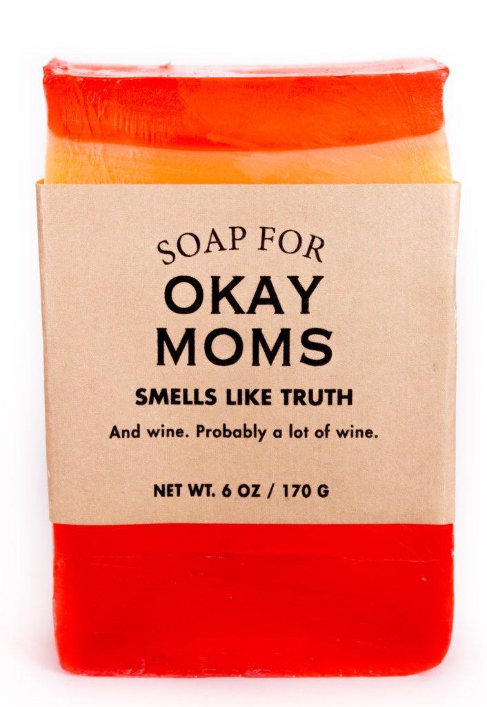 Personal Care Whiskey River Soap Company - Okay Moms - Soap
