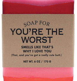 Whiskey River Soap Co. - You're The Worst  Soap