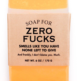 Personal Care Whiskey River Soap Company - Zero Fucks - Soap