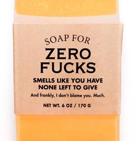 Whiskey River Soap Company - Zero Fucks - Soap